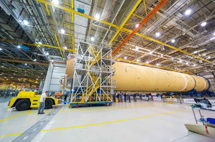 Photo of NASA's troubled next-generation rocket is finally assembled