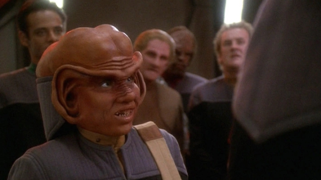 Photo of Aron Eisenberg, the Actor Who Played Nog on Deep Space Nine, Has Died