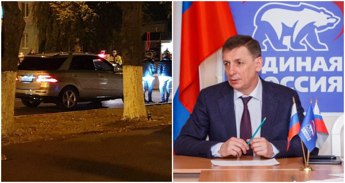 Фото Депутат Михайлов на Mercedes сбил 12-летнего мальчика