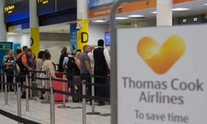 Photo of Thomas Cook travel chaos: firm's collapse leaves 150,000 stranded abroad – live updates