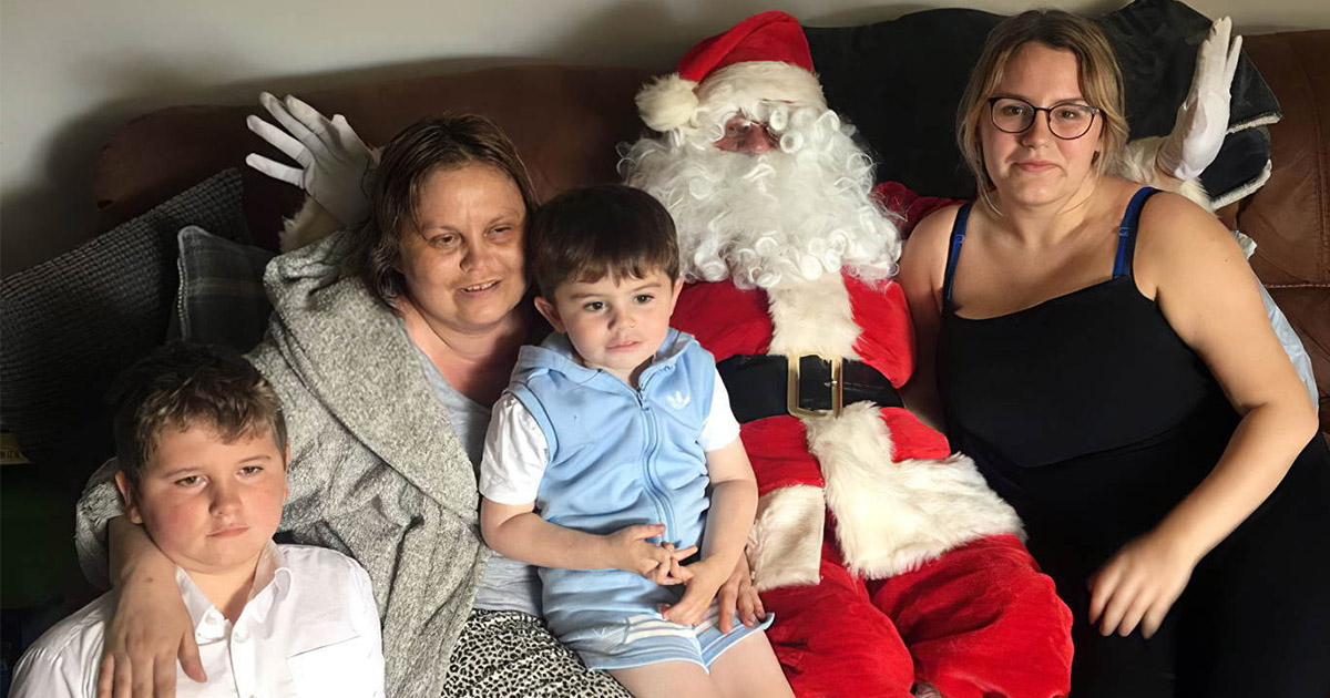 Неизлечимо больная женщина встретила Рождество в сентябре
