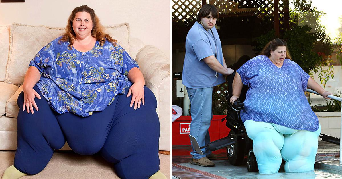 Самая тяжелая женщина планеты рассказывает, как смогла добиться рекорда