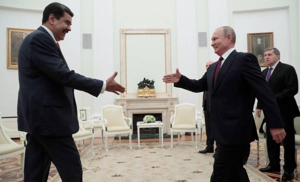 Photo of Maduro inicia su visita a Rusia para apuntalar el apoyo de Putin