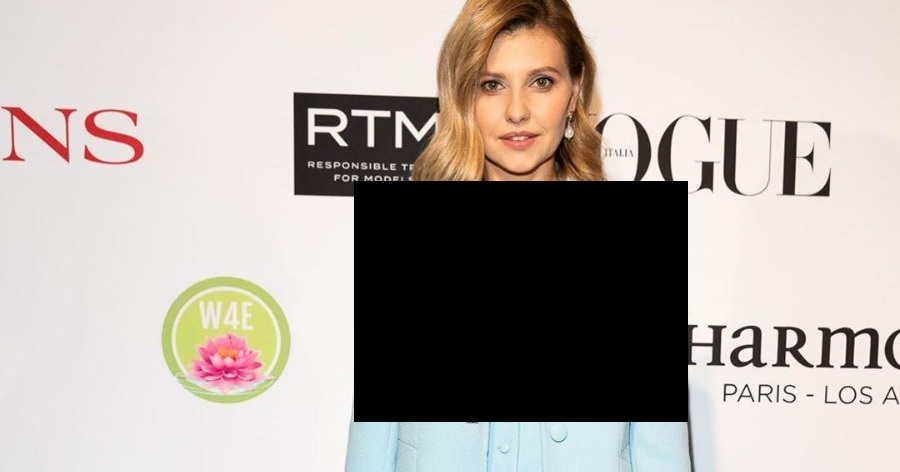 """Фото """"Не хватает блузки"""". Жилетка жены Зеленского в ООН вызвала обсуждение"""