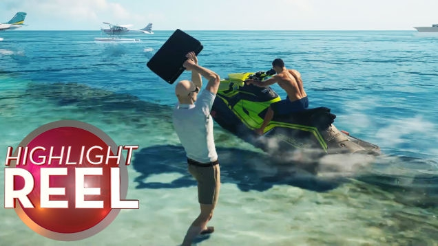 Photo of Hitman Jet Skier Catapulted By Briefcase