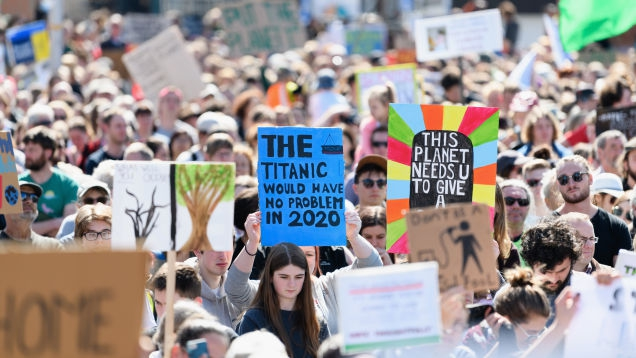 Photo of Massive Climate Strikes Erupt Worldwide for the Second Week in a Row