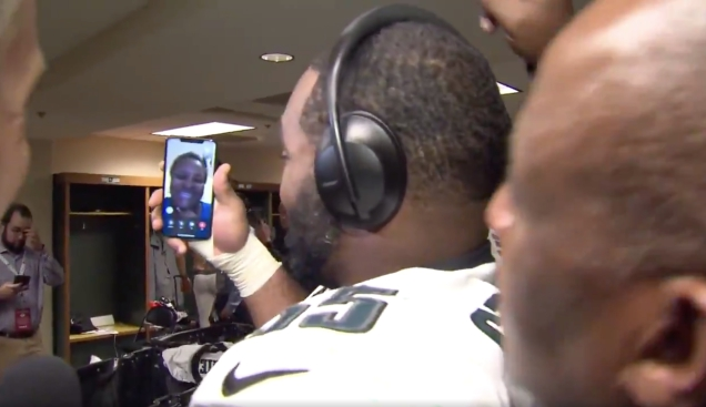 Photo of Brandon Graham Shows His Enemy's Face To His Mother, Who Surely Shall Taste Sweet Vengeance