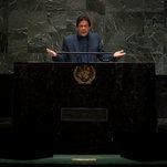 Imran Khan Warns of Kashmir 'Blood Bath' in Emotional U.N. Speech