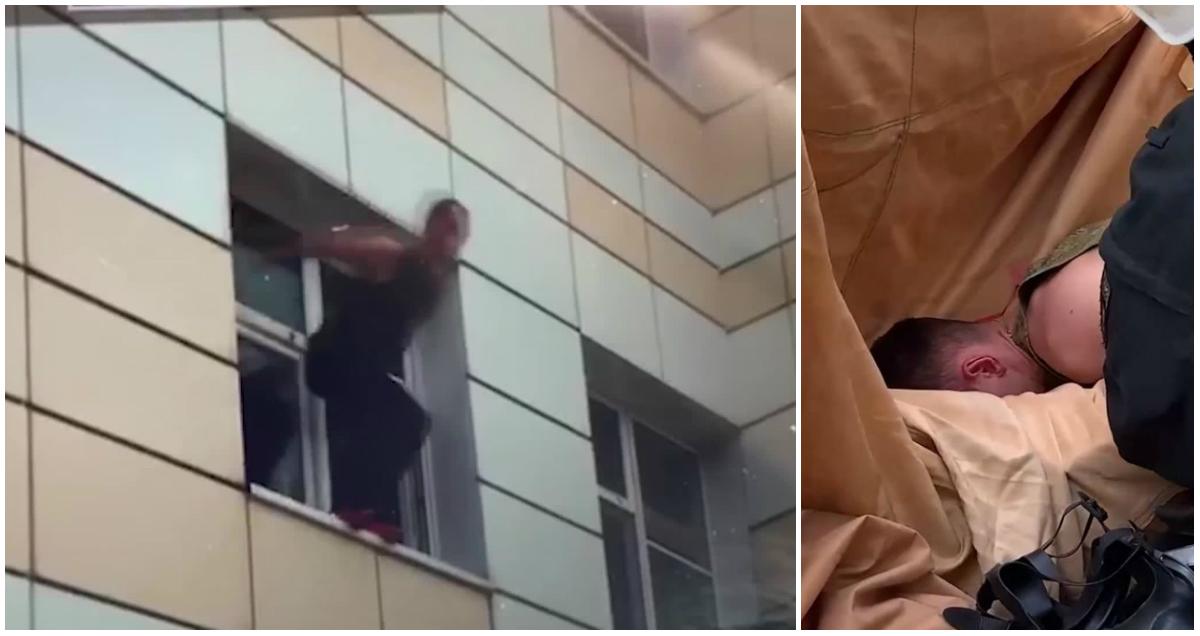 Россиянин сломал шею во время учений спасателей МЧС