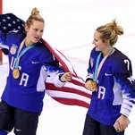 For Hockey's Lamoureux Sisters, Perfect Ending Was Only a Pause