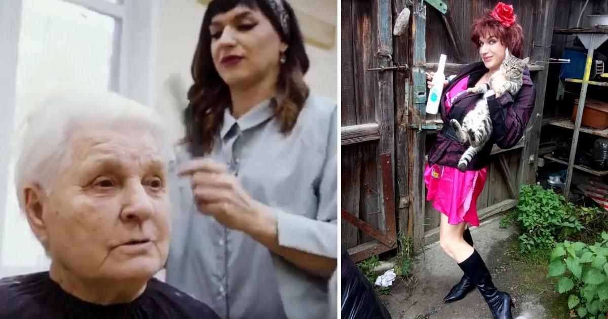 Трансвестита-парикмахера выгнали из госпиталя, где он стриг ветеранов