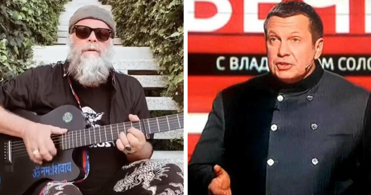 """Фото Гребенщиков записал песню """"Вечерний му**звон"""". Соловьев недоволен"""