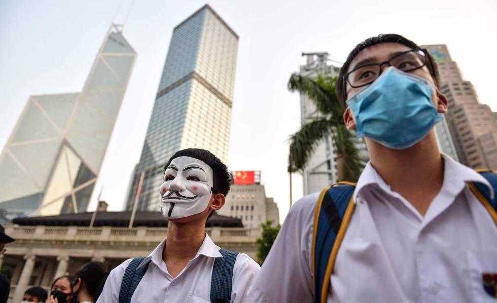 Photo of Máxima tensión en Hong Kong ante el 70º aniversario de China