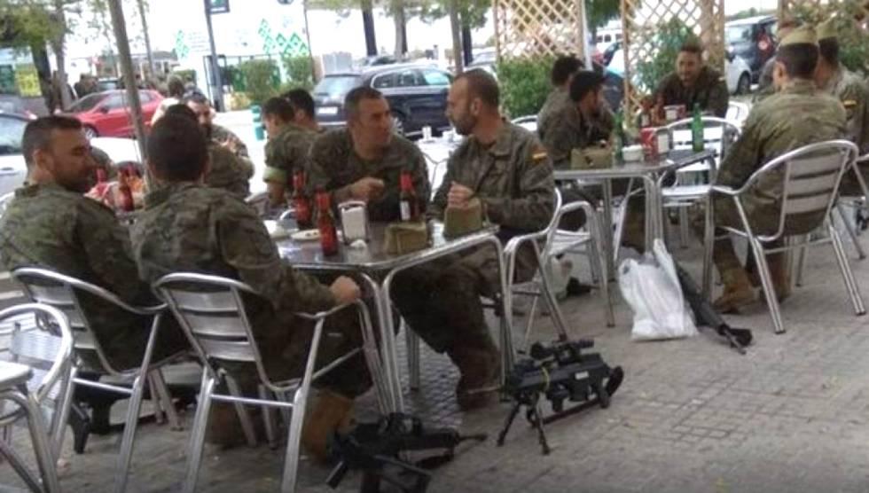 Photo of Los legionarios fotografiados con armas serán sancionados si se prueba que bebieron alcohol