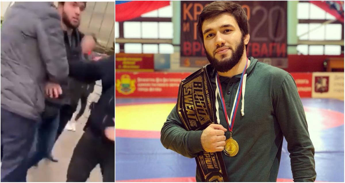 Боец-чемпион Наби Амадзиев пoбил двух полицейских в Москве