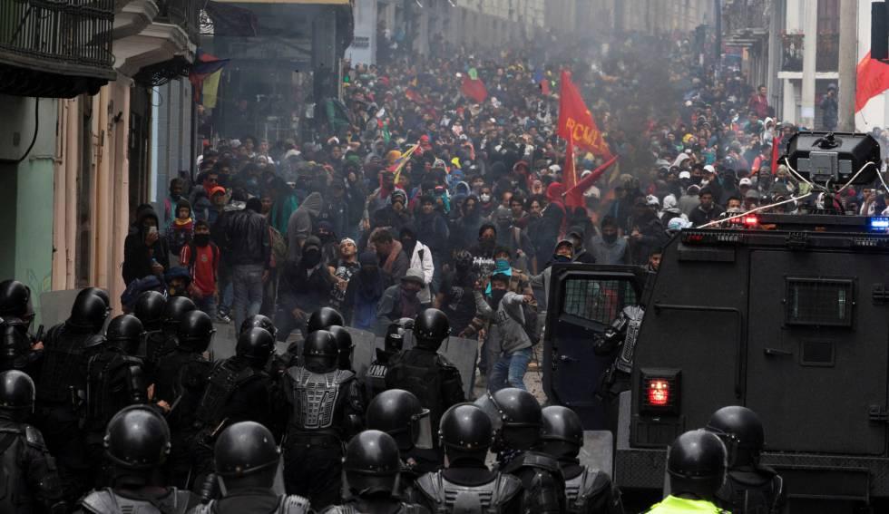 """Photo of Lenín Moreno advierte de las consecuencias de las protestas: """"A esos golpistas Ecuador les está diciendo no"""""""