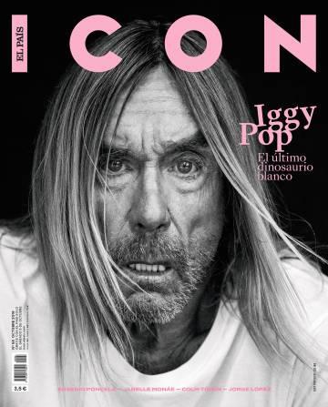 Photo of El último latigazo de la iguana Iggy Pop en la portada de octubre de ICON