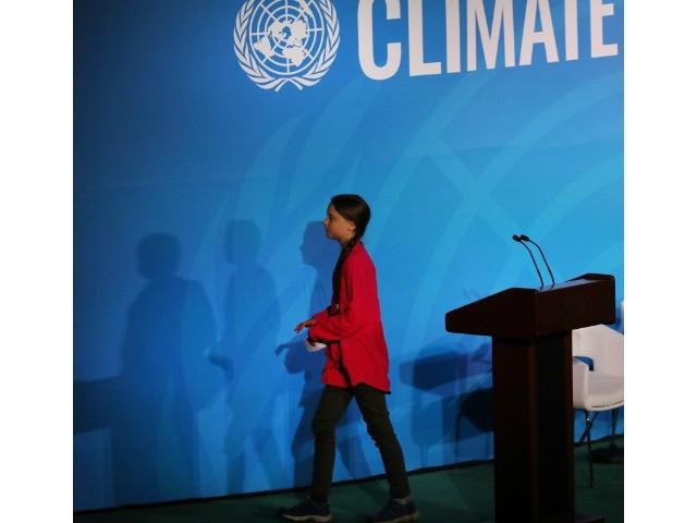 Photo of Greta Thunberg in Iowa City: U.N. Climate Action Summit a Failure