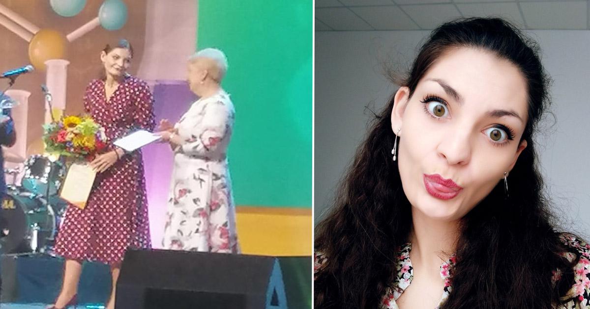 """Фото """"Я не рок-звезда"""": в России выбрали 28-летнюю Учителя года"""