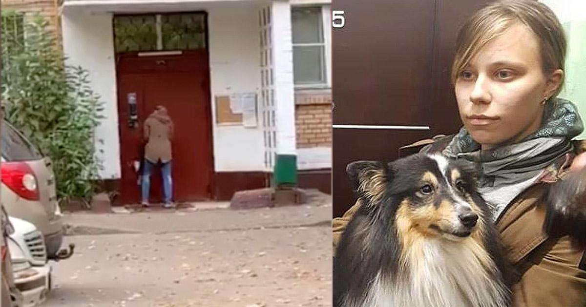 В Москве дрессировщица швыряла собаку о железную дверь
