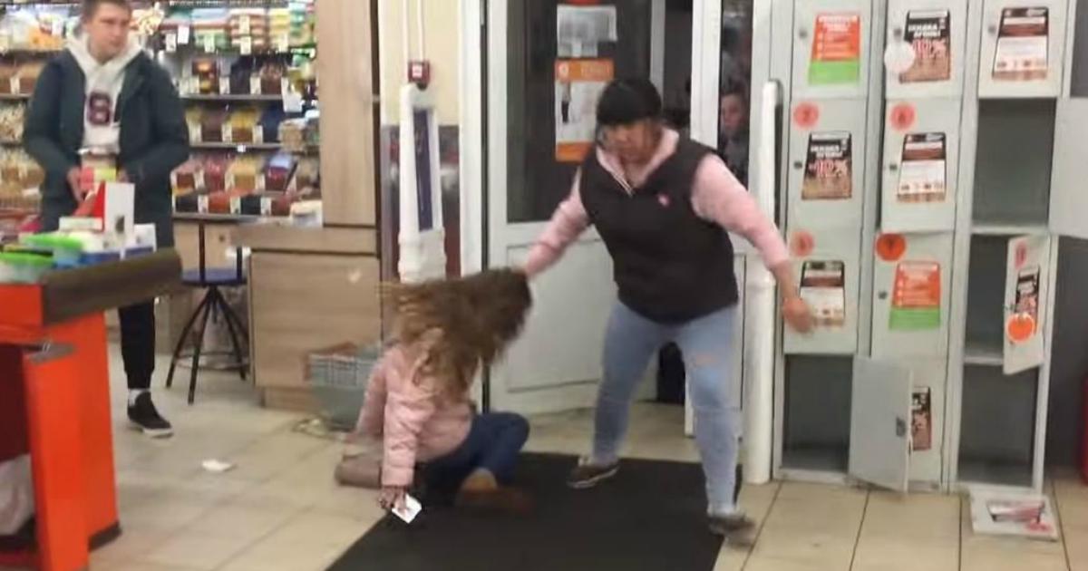 """Сотрудники """"Дикси"""" пoбили девушку из-за сливочного масла"""