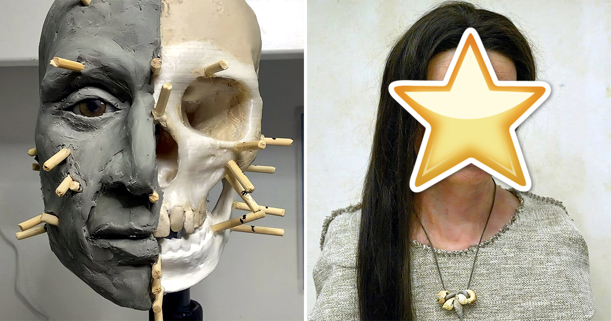 Ученые воссоздали внешность женщины, жившей 7400 лет назад