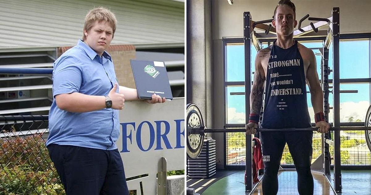 Австралиец сбросил 60 килограммов и утер нос бросившей его девушке