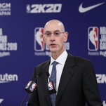 Adam Silver Commits to Free Speech as Chinese Companies Cut Ties With N.B.A.