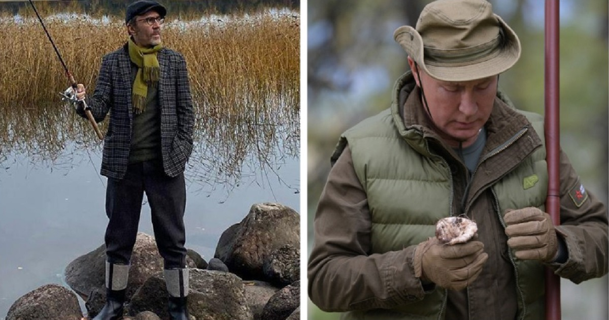 Фото Шнуров в стихах высмеял отдых Путина в тайге