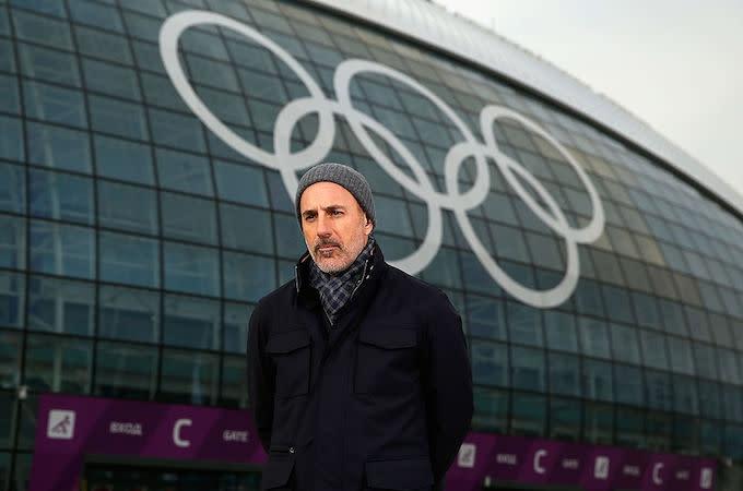Photo of Matt Lauer Accused of Raping NBC Employee at 2014 Olympics in New Ronan Farrow Book