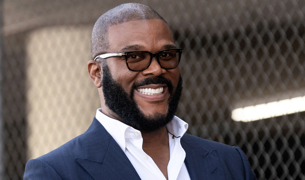 Photo of Tyler Perry on His Historic New Studio, Georgia's Abortion Bill Controversy