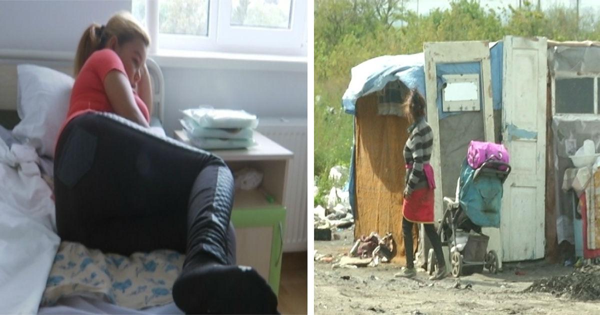 Фото Девочка с Украины родила в 12 лет и отказалась от ребенка
