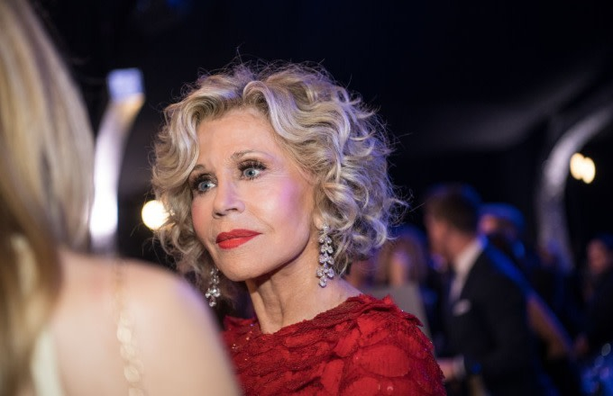 Photo of Video Shows 81-Year-Old Jane Fonda Getting Arrested at Climate Change Rally on U.S. Capitol Steps