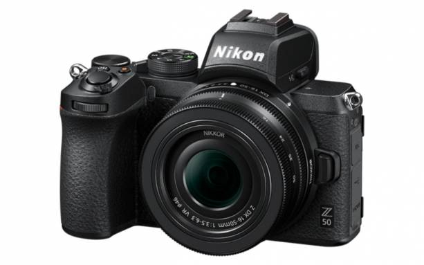 Photo of Nikon Z50 is the maker's first DX-format mirrorless camera