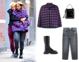 I Want to Be Wearing That: Anwar Hadid's Balenciaga Cocoon Coat - Yes, I'm Jealous of Dua Lipa