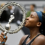Coco Gauff, 15, Wins Her First Singles Title