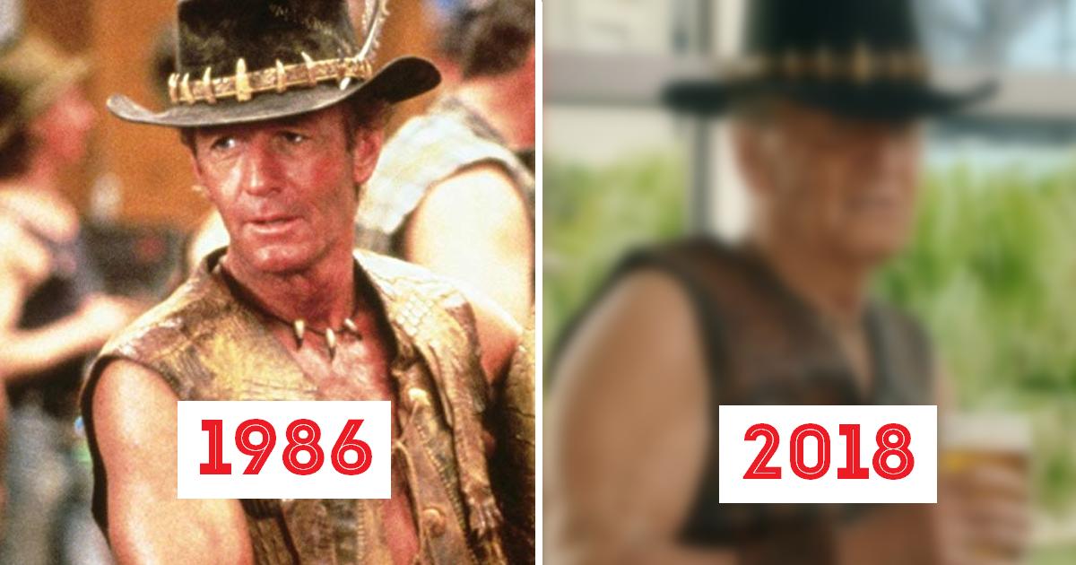 """Фото Как выглядит легендарный """"Крокодил"""" Данди в 80 лет?"""