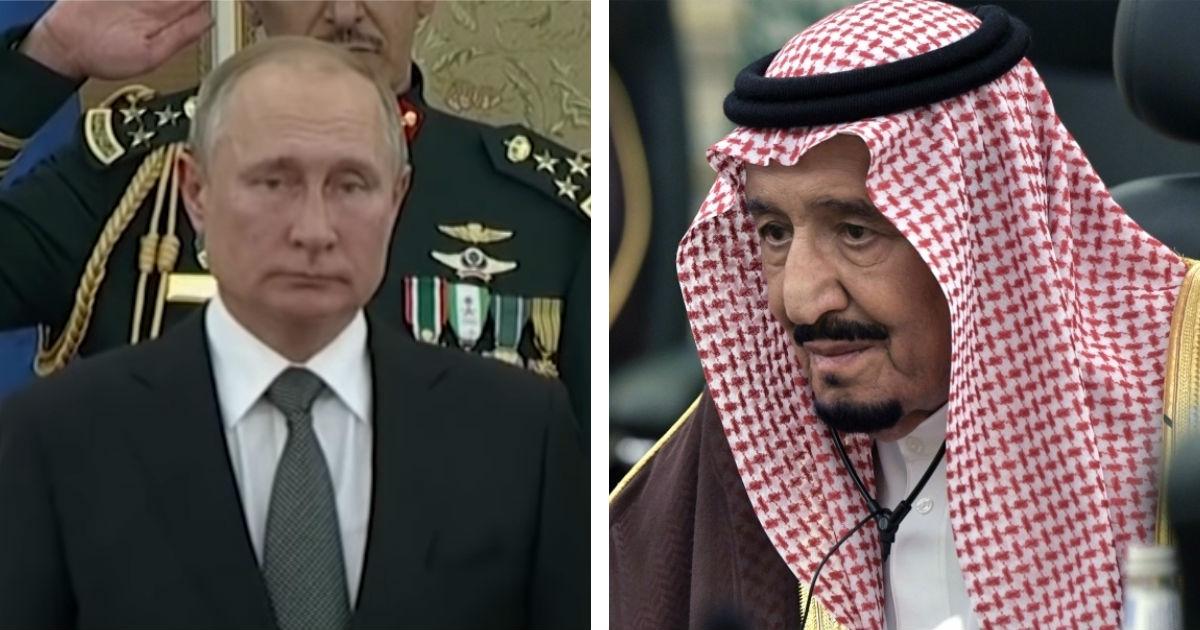 Фото Конфуз при встрече. Как Путин погостил у саудовского короля в Эр-Рияде