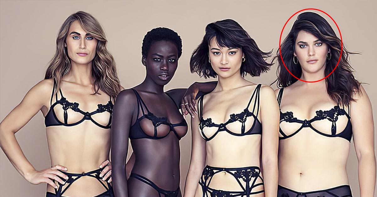 Фото Модели набирают вес. Первая нестандартная супермодель Victoria's Secret
