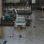 Photo of Fukushima, Beaten Down by Nuclear Disaster, Takes Big Typhoon Hit