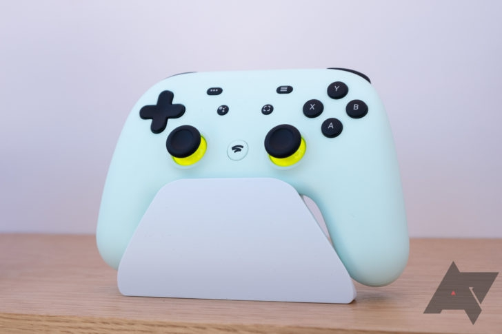 Photo of Google's Stadia controller won't support USB-C headphones at launch