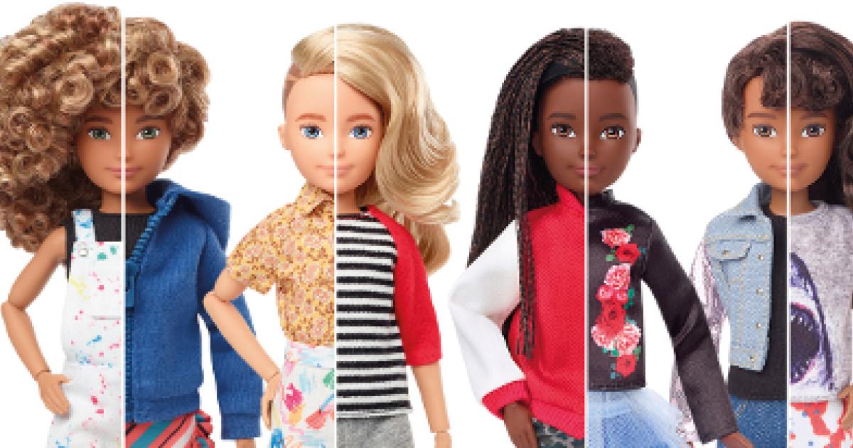 И девочка, и мальчик: как выглядит первая в мире гендерно-нейтральная Барби