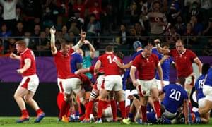 Wales v France: Rugby World Cup 2019, quarter-final – live!