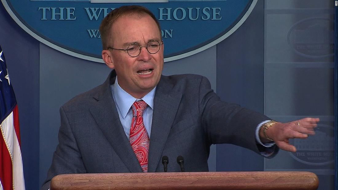 Photo of Mulvaney faced a threat of being ousted before the impeachment crisis