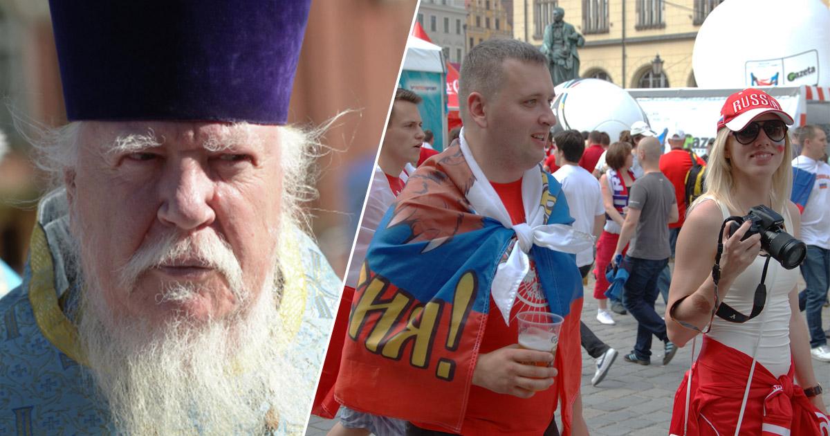 В РПЦ раскритиковали россиян за любовь к футболу