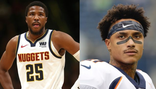Photo of Video Surfaces Of Wild Brawl Between Nuggets' Malik Beasley And Former Bronco Su'a Cravens
