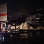 Photo of Dallas Tornado Leaves Trail of Damage