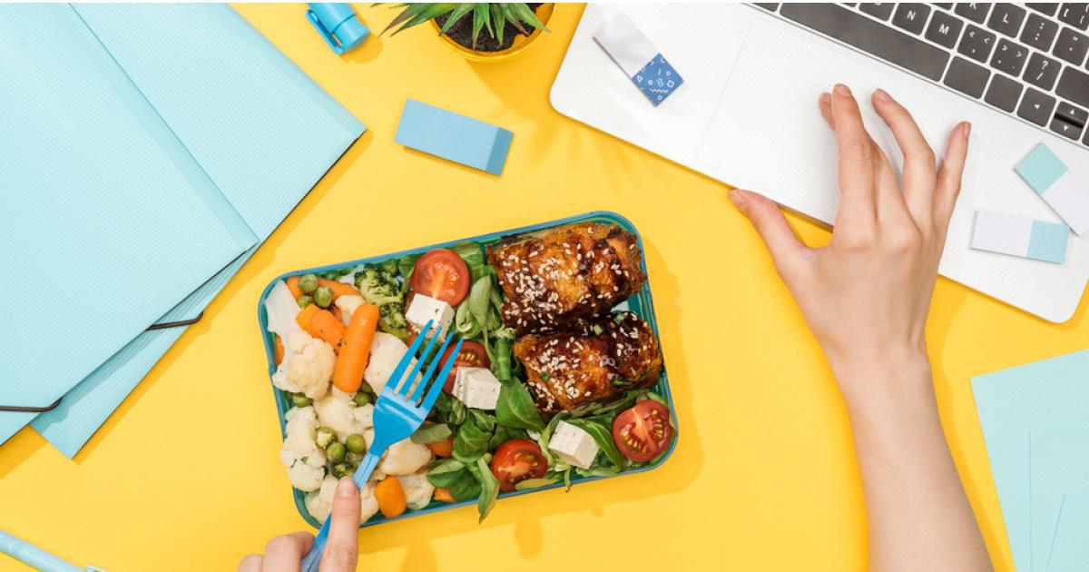Фото Принципы правильного питания на работе: остаться здоровым в большом городе
