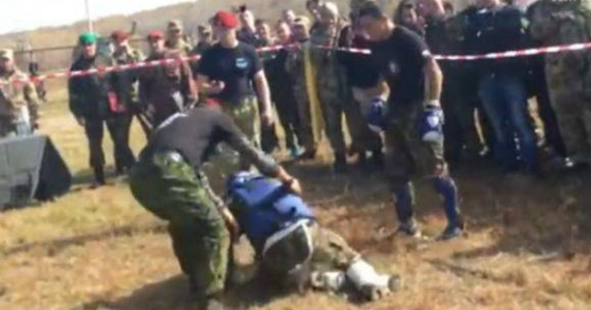 Росгвардеец впал в кoму во время боя за право носить краповый берет