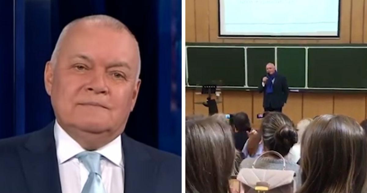 Киселев взбудоражил студентов МГУ словами о преемнике Путина